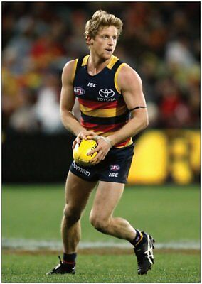 2 x ADELAIDE CROWS RORY SLOANE & EDDIE BETTS  A4 POSTERS - THESE LOOK AMAZING