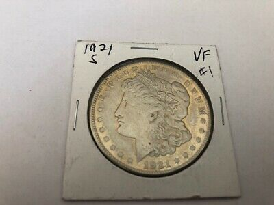 1921 S Morgan Dollar VF