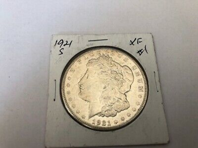 1921 S Morgan Dollar XF