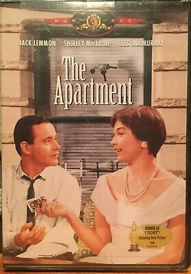 THE APARTMENT DVD Brand New Factory Sealed Jack Lemmon Shirley MacLane Free Ship