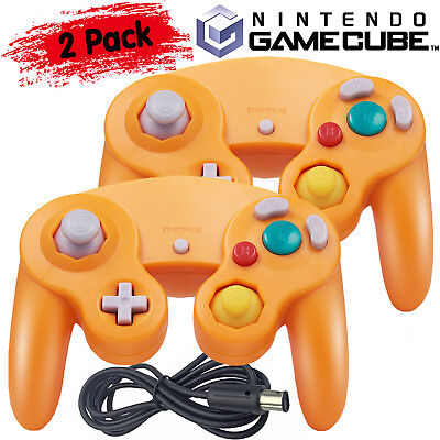 2Pack Wired GameCube Controller Gamepad for GameCube GC NGC Wii Switch Console