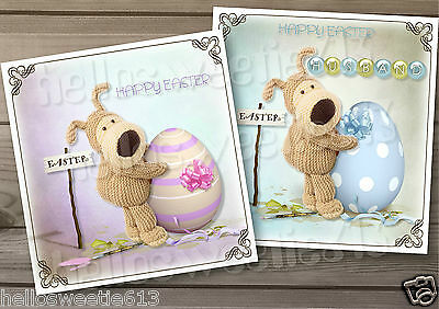 Quality Boofle Easter Greeting Card Sister,dad,grandad Or Thank You Cards