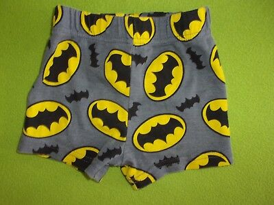 ea3a9815a648 DC COMICS BATMAN Infant Crib Shoes Blk yellow Size 3-6 Months ...