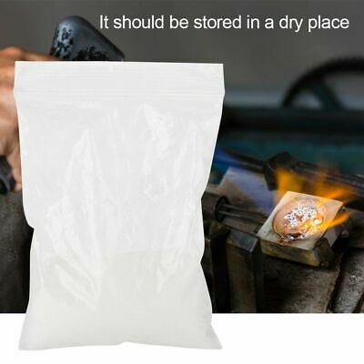 Borax Flux For SLIME Melting Gold Silver Jewelry Casting Weld Crucible Melt 90g