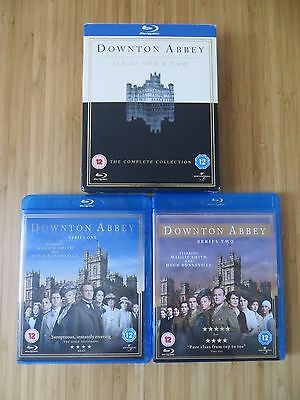 Downton Abbey Series 1 & 2 Blu-ray 5-disc Box Set season seasons blueray one two
