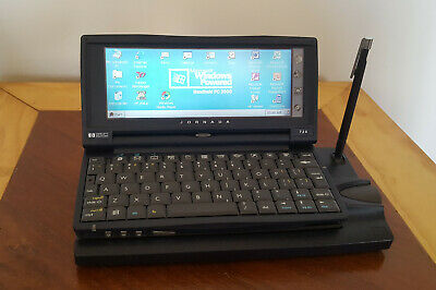 HP Jornada 720 Handheld Pocket Windows PC 206mhz CPU 32mb Touchscreen W/ Stylus