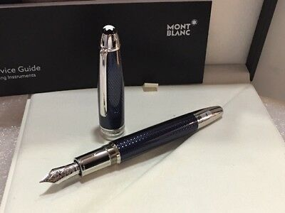 Montblanc Mst Solitaire Blue Hour  Legrand 146 Fountain Pen (F) #112888 - New