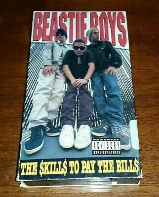 Vintage Beastie Boys Vhs Collector Tape She S On It Crafty