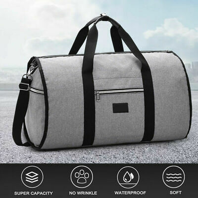 2 in 1 Travel bag Shoulder Luggage Two-In-One Garment Bag Duffle