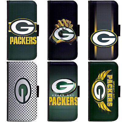 PIN-1 Green Bay Packers Phone Wallet Flip Case Cover for All Models