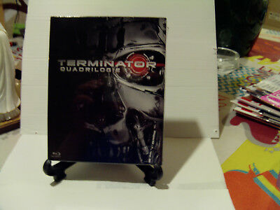TERMINATOR - RARE EDITION LIMITEE Coffret Quadrilogie Blu Ray Neuf sous Blister