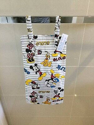 Selfie Mickey Mouse, Nappy Diaper Stacker, Slim Line, Space Saver,--,New  (T4)