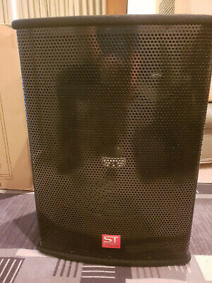 Pair of SoundTech CST153 Professional PA Speakers