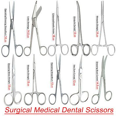 Medical Operating Dissecting Dissection Surgical Scissors Forceps Medical EMT FW