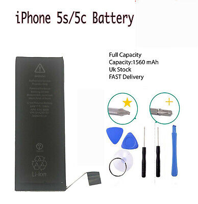 Genuine Original gmz Replacement Battery For iPhone 5s /5c Full Capacity 1560mAH