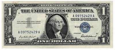 1957 One $1 Dollar Silver Certificate Notes XF - AU 2 DAY SPECIAL PRICING