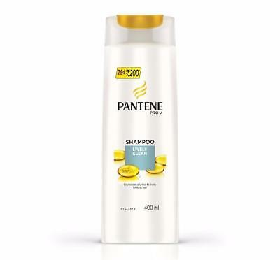 Pantene Pro- V Lively Clean Shampoo Revitalize It For That Fresh, Lively 400ml