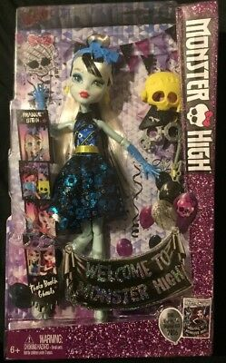 Monster High Doll  Frankie Stein Welcome To Monster High