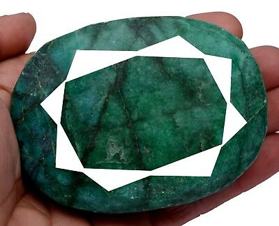 1777ct Big Museum Size Natural Oval Green Emerald Faceted Loose Gemstone On Ebay