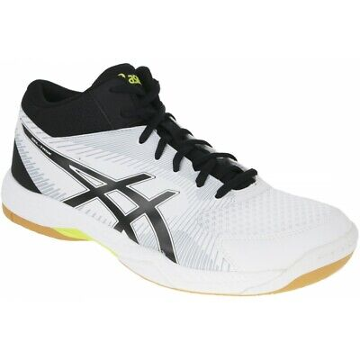 be49be22b19cb ASICS GEL-TASK MT Men's Volleyball Shoes White Badminton Indoor Shoe  B703Y-0190