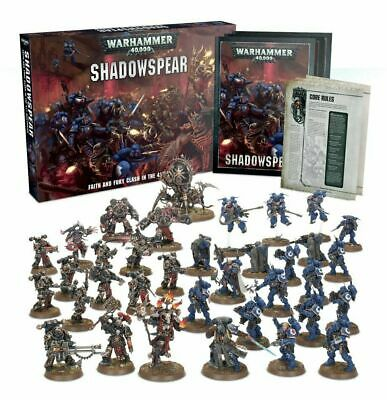 Warhammer 40k - Shadowspear Box Set - Brand New in Box! Free Expedited Shipping!