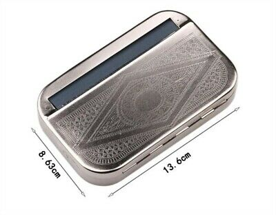 Automatic Cigarette Tobacco Smoking Rolling Box 110mm Machine Roller FREE Papers