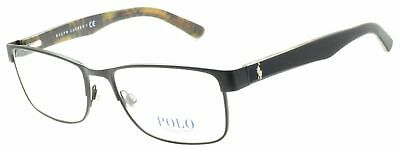 29bc6dee6b2c Polo Ralph Lauren Ph 1157 9038 55/17 145 Black Gloss Tortoise Brown Frame