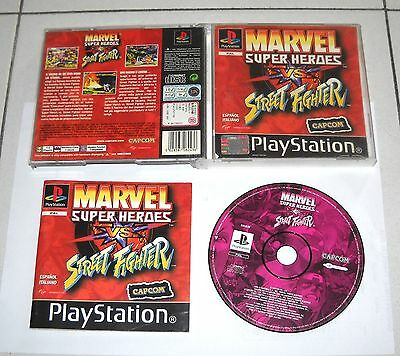 s Marvel Super Heroes Vs Street Fighter ☆☆ Mint Case Only ☆☆ Ps1 Playstation 1 Video Games & Consoles
