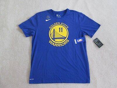reputable site eeb90 09847 NIKE AUTHENTIC GSW WARRIORS #11 Klay THOMPSON Blue Jersey T Men XL NEW  Sweet^