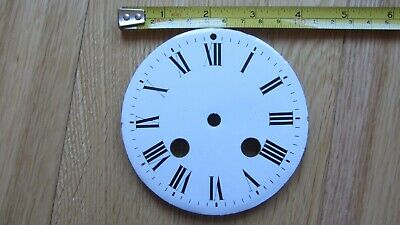 French Enamel Clock Dial  ( VERY GOOD CONDITION )
