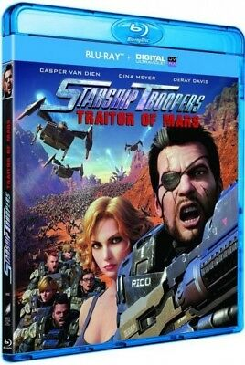 Starship Troopers : Traitor of Mars (BLU-RAY + Digital NEW BLISTER PACK)