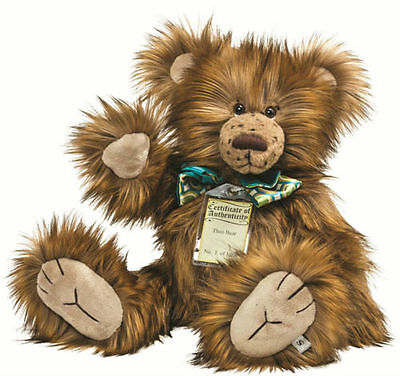 Silver Tag Bears Oscar Fine Quality rrp £75 Complete With Gift Bag Special Offer