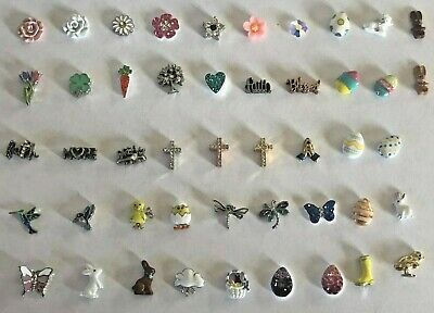 Authentic Origami Owl 2019 New Easter Spring Charms FREE SHIPPING BUY 4 SAVE $2