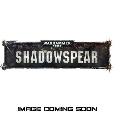 Preorder Warhammer 40K Shadowspear Vanguard Space Marine & Black Legion Decals