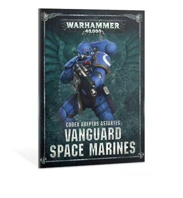 Warhammer 40K Shadowspear Space Marine Primaris Vanguard Codex