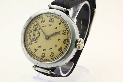 1930's RARE Kirovskie military commander USSR WWII wrist watch  2 hour factory