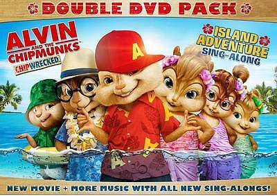 Alvin and the Chipmunks: Chipwrecked  + Island Adventure Sing Along- 2 DVD SET