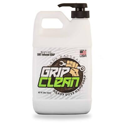 Grip Clean | Dirt Infused Heavy Duty Hand Cleaner - All Natural (1/2 gal)