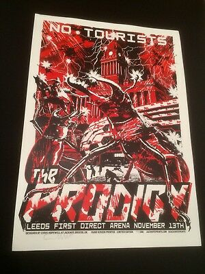 The Prodigy No Tourists 2018 Tour Poster Jacknife Prints Keith Flint Liam Maxim