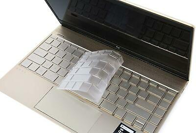 Ultra Thin TPU Keyboard Cover Skin Compatible HP Spectre x360 2-in-1 15.6 New