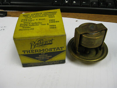 Bridgeport 1953-54 Buick, Ford & Mercury (See Description) Thermostat Model 28Ht