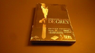 rare BLU RAY -CINQUANTE NUANCES DE GREY- edition prestige COMBO BLURAY +DVD NEUF
