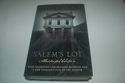 Stephen King Salems Lot 1St Illustrated Edition 2Nd Printing Hardback Book First