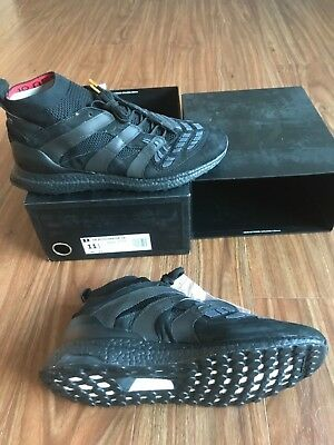 7e3994b46437b Adidas David Beckham DB Accelerator UB Ultra Boost Black AP9870 Size 11.5  New