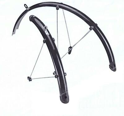 full length cycle mountain bike mud guards mudguards 26 wheels 50mm wide