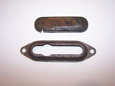1937-1946 Chevy GMC truck 4 hole rubber grommet  CABLE BRACKET used 1 pc