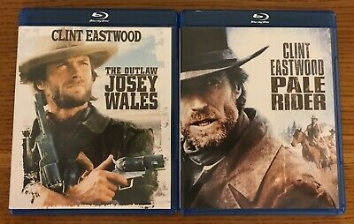 THE OUTLAW JOSEY Wales + Pale Rider Clint Eastwood (Blu-ray) free shipping