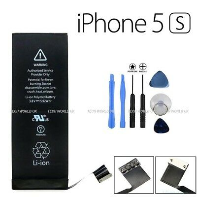 Genuine Battery Replacement for Apple iPhone 5s 5c  1560 mAh + tools UK STOCK