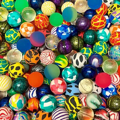 "250 Premium Quality One Inch 27mm Super Bounce Bouncy Balls 1"" Our Exclusive Mix"