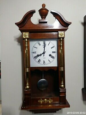 C.wood And Sons Pendulum Wall Clock 31 Day